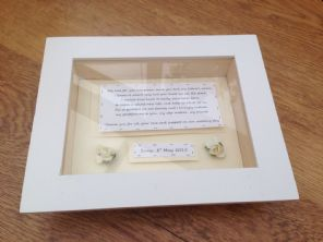 Shabby Personalised Chic Box Frame Gift For Step Mother Of The Bride.. Mum Mom